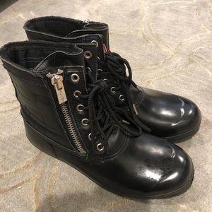 Hunter zip snow boots